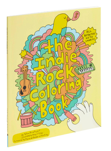 Even hipsters aren't too cool to color. Pick up some crayons and get back in touch with your childhood creativity with this melodiously fun coloring book. Illustrated by Andy J. Miller for the Yellow Bird Project, a Montreal based organization that puts musicians in touch with various charities, this book includes page after page of blank drawings and activities where you can bring life to MGMT's psychedelic playground and help members of Broken Social Scene wiggle their way through a maze. Featuring an intro by Pierre de Reeder of Rilo Kiley, this coloring book is not only philanthropic, but super awesome. A great gift for a music lover and perfect for alternative fun at summer festivals!$7.99