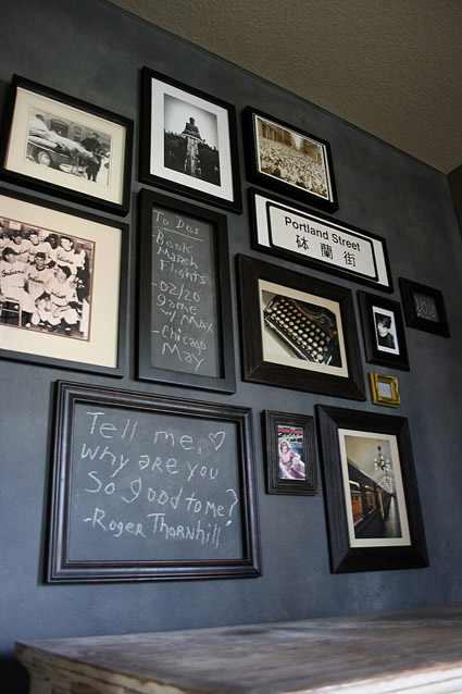 11-Chalkboard-paint-idea-memo-frame-wall