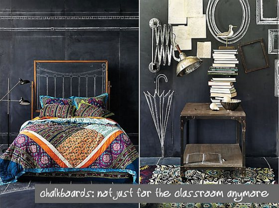 bedroom-decoration-with-chalkboard