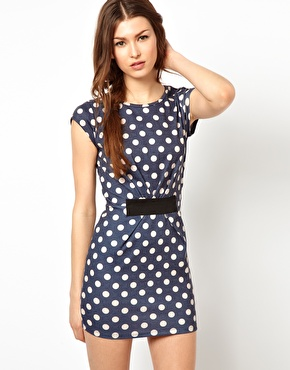 Wal G Polka Dot Dress RRP $57.40 $31.89