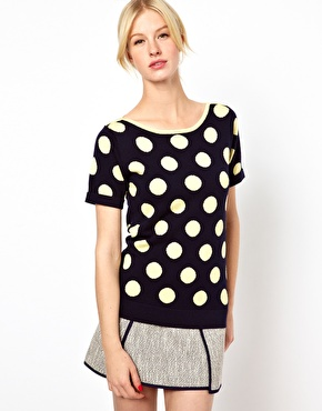 Boutique by Jaeger Polka Dot Knit $127.56 NOW $63.78