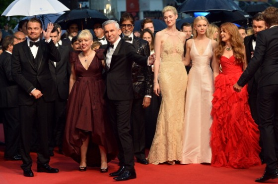 The cast of The Great Gatsby