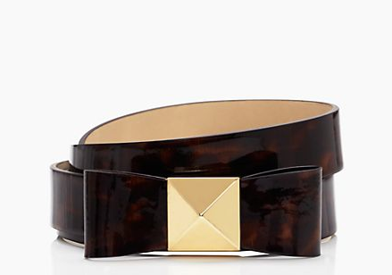 Kate Spade Giant Bow Trouser Belt $98