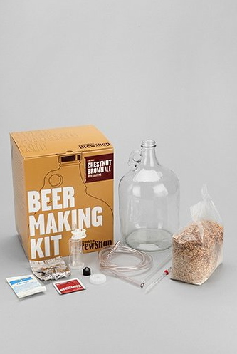 Gifts for the guy in your life (Dads, Brothers, Uncles, Friends or Boyfriends/Husbands ect...)   Urban Outfitters Beer Making Kit $50